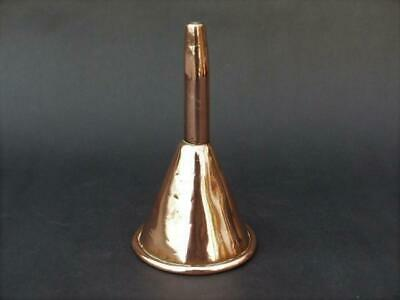 Arts & Crafts Copper Funnel - Heavy Gauge Copper Funnel