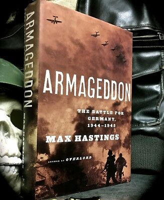 ARMAGEDDON: THE BATTLE FOR GERMANY, 1944-45 ~ 1ST 2004 HC w/ D/J ~ WORLD WAR II