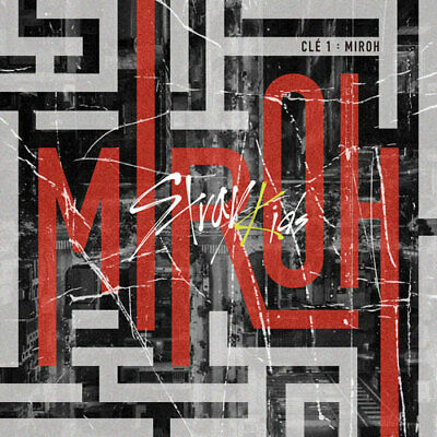 "[STRAY KIDS]4th Mini Album ""Cle 1: MIROH""(Normal-Random) CD+Book+Card+etc+POSTER"