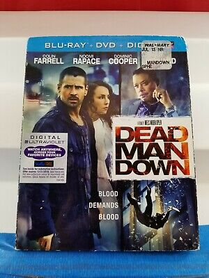 Dead Man Down DVD and Blu-Ray  Lot(310-13)