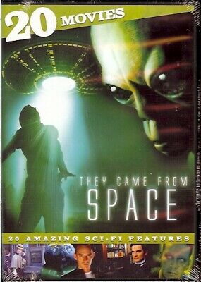 THEY CAME FROM SPACE 20 Sci-Fi Movies on 4 DVDs New SEALED 1948-2001 AWESOME!!!