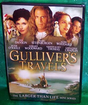 New Ted Danson Gulliver's Travels Complete Tv Mini Series Movie Dvd 1995