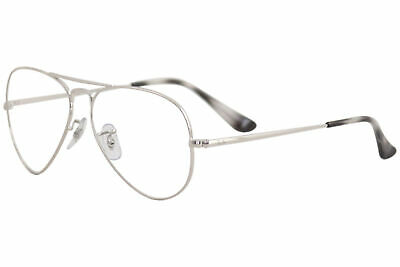 f3599533498 Ray Ban Eyeglasses RB6489 RX 6489 2501 Silver Aviator RayBan Optical Frame  55mm