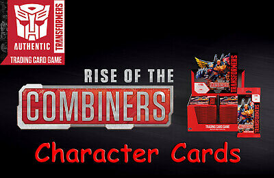 Transformers Rise Of The Combiners TCG Character Cards Choose from drop down box