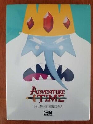 ADVENTURE TIME: The Complete Second Season; DVD; New and Unopened