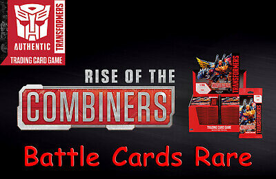 Transformers Rise Of The Combiners TCG Battle Cards Rare Pick from drop down box
