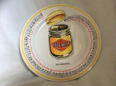 Vegemite Plate 1995 collectable