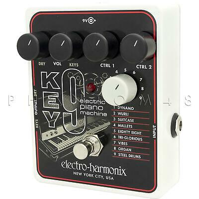 Electro-Harmonix Key 9 Electric Piano Keyboard Guitar Synth Effects Pedal NEW
