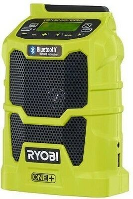 Ryobi 18V One+ Compact Radio W/ Bluetooth Technology (Radio Only) Reconditioned