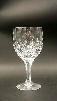 ATLANTIS CRYSTAL WATER GOBLET AZORES PATTERN Barware luxury Glam quality