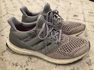 e9b07385085ac ADIDAS ULTRA BOOST 1.0 Wool Grey S77510 Size 7 Sneakers Shoes ...
