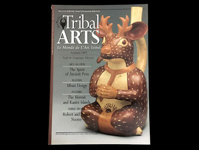 Tribal Arts Magazine #14  Summer 1997  Ancient Peru  Bismark Archipelago Morocco