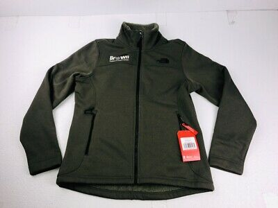 444fd6efaaa9 The North Face Women s Timber Full Zip Fleece Jacket Medium Taupe Green