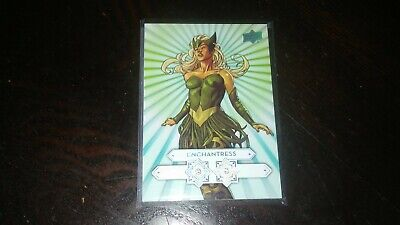 2016 Upper Deck Marvel Gems Diamond Mine Enchantress /30 DDM7