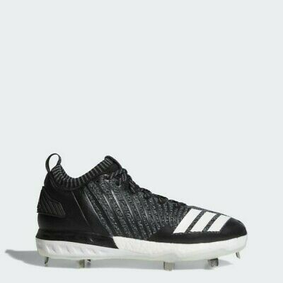 best loved 9219d 36620 NWT Adidas Boost Icon 3 Metal Baseball Cleats Knit Black White DB1793 SZ  11.5