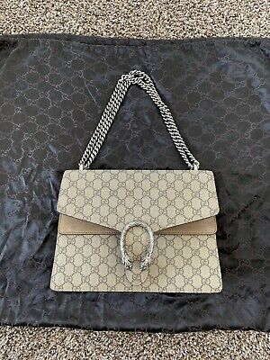 9f1d8941d8 GUCCI DIONYSUS GG Supreme Super Mini Shoulder Bag - $407.00 | PicClick