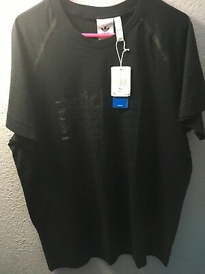 ca937d5bf ADIDAS NMD shoe match TEE XL triple Black T Shirt extra large rare mens nwt