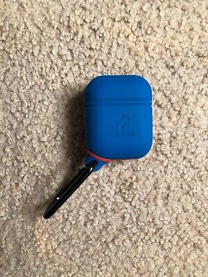 Blue Waterproof Airpods Case Cover By Catalyst, Shockproof And Drop Proof