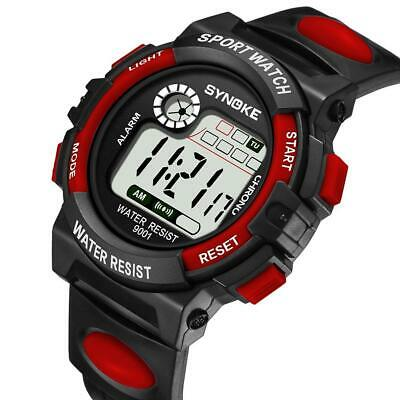 Fashion Men Women Sport Date Digital Watch Kids Girls Boys Waterproof Wristwatch
