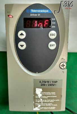 9718 Schneider Electric Telemecanique Altivar 31 Drive Atv31H075M2S335
