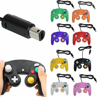 New Wired Classic Controller Joypad Gamepad For Nintendo GameCube GC & Will