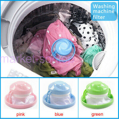 Floating Pet Fur Catcher Filtering Hair Removal Laundry Lint Cleaning Supply AU