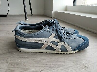 onitsuka tiger mexico 66 dark blue vaporous grey gray blue