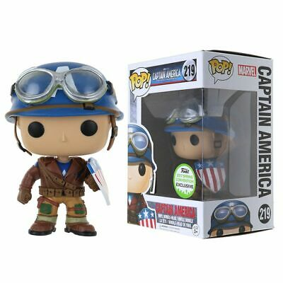 FUNKO POP Captain America #219 Marvel Avengers collectionner Figure Toy exclusif