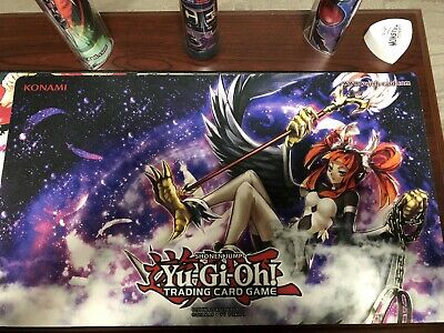 F3737 Free Mat Bag Custom Yugioh Playmat Harpie/'s Pet Dragon Harpie Channeler