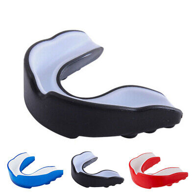Gum Shield Mouth Guard Boil Bite All Sports Boxing Football Senior & Junior