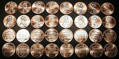 10 11 12 13 14 15 16  17 18 2019 P&D Lincoln Shield Cent Penny Set BU US Coin