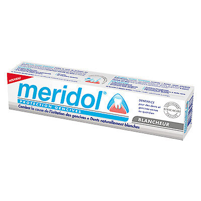 MERIDOL Dentifrice Blancheur Protection Gencives - 75ml