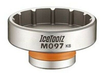 Icetoolz trapassleutel 12-tands - zilver