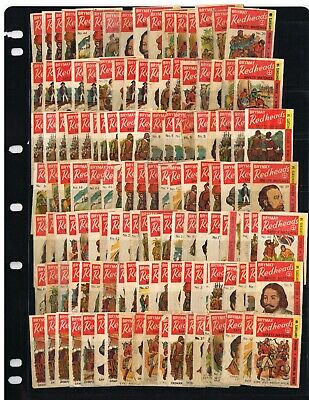 1969 Matchbox Label Redheads Explorers ' Used - Part Sets Over 240 Off