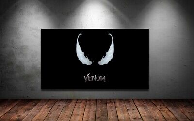VENOM - MOVIE POSTERS-  COLORFUL AND LOVELY Canvas home wall choose your size