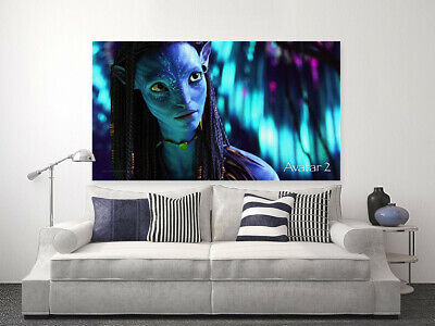 AVATAR  MOVIE POSTERS-  COLORFUL AND LOVELY Canvas home wall choose your size