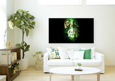 AVENGERS MOVIE POSTERS-  COLORFUL AND LOVELY Canvas home wall choose your size