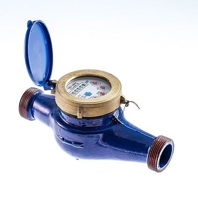 Water Meters, Irrigation, Heavy Duty, Brass BSP Connections, NEXT DAY DELIVERY