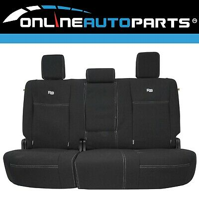 Rear Neoprene Car Seat Cover suits Isuzu D-Max TFR85 TFS85 5/2012~on