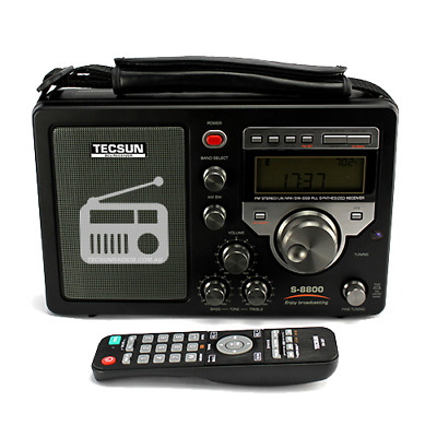 Tecsun S-8800 High Performance Radio with AM/FM and Shortwave band Including SSB