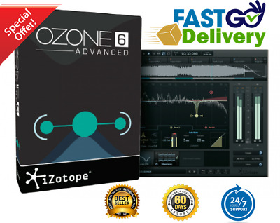 iZotope Ozone 6 Advanced🔥 ACTIVATION 🔑 INSTANT DELIVERY📩 10SEC SUPPORT 24/7🛎