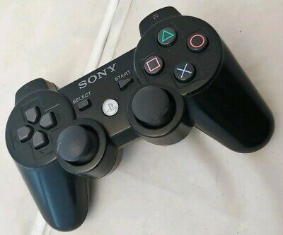 CONTROLLER ORIGINALE SONY PLAYSTATION 3 DUALSHOCK JOYPAD NERO JOYSTICK per PS3