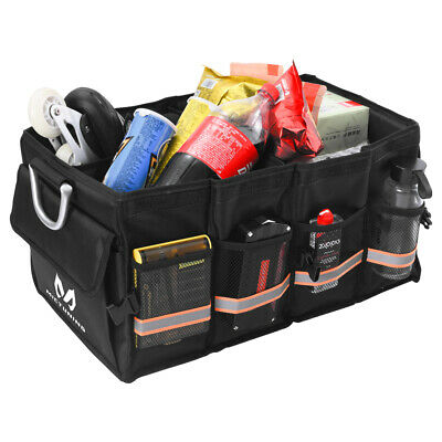 Universal Car Trunk Organizer Storage Bag Bin with Strap Collapse for Truck SUV