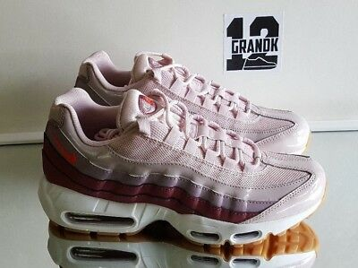 detailed look aceae 42ca4 New Womens Sz 9.5 Nike Air Max 95 (307960 603) Barely Rosehot