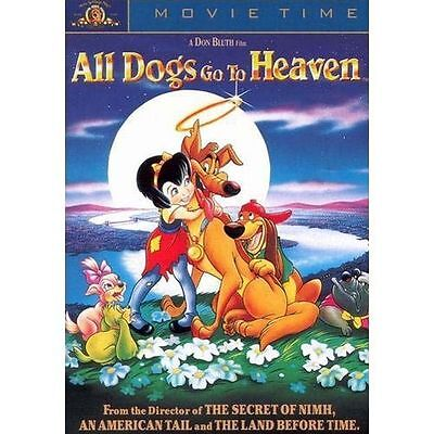 ALL DOGS GO TO HEAVEN (DVD) MGM 1989 Brand New!