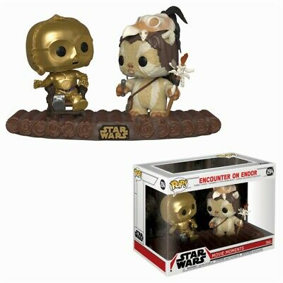 Funko Pop! - Encounter on Endor - Star Wars Movie Moments - Producto Oficial