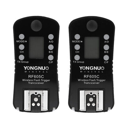 YONGNUO Wireless Flash Trigger & Shutter Release 16 Channels for Canon Cameras