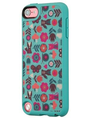 Speck Fabshell MP3 Case iPod Touch 5 Forest Frolic Green Pool Blue
