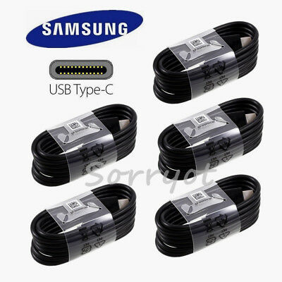 5x OEM Samsung USB Type-C cable 4FT fast charger F Galaxy Note8 S8 S9+ S10 S10+