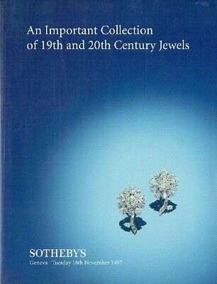 Sothebys November 1997 An Important Collection of 19th and 20th Century Jewels